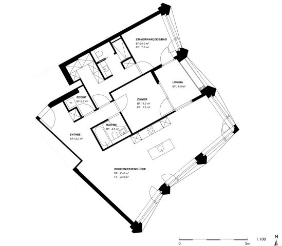 Wohnung Nr. 14. Limmatt